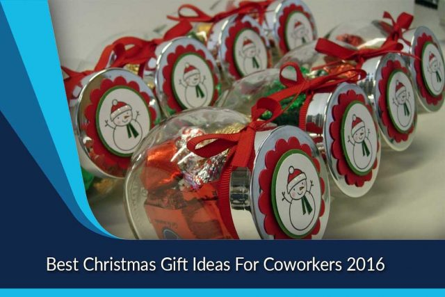 Best Christmas Gift Ideas For Coworkers 2016