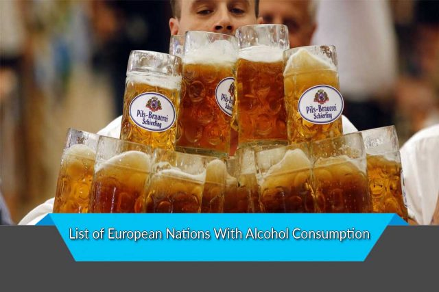 List of European Nations With Alcohol Consumption