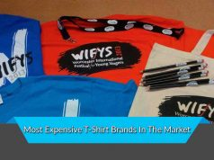 Most Expensive T-Shirt Brands In The Market