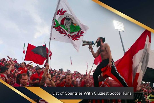List of Countries With Craziest Soccer Fans