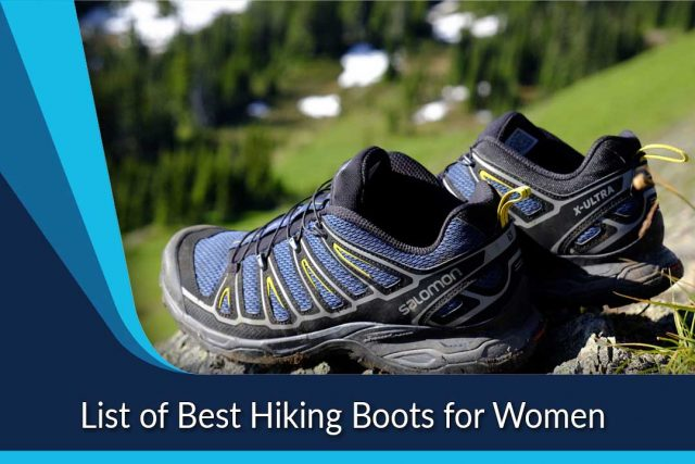 List of Best Hiking Boots for Women