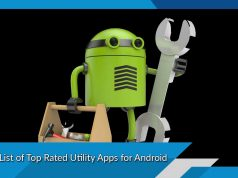 A List of Top Rated Utility Apps for Android