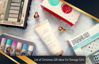List of Christmas Gift Ideas For Teenage Girls